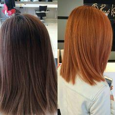 rich copper hair look for brunettes - Modernes Lilac Hair, Gold Hair, Blue Hair, Hair Color And Cut, Cool Hair Color, Red Hair Cuts, Cabelo Ombre Hair, Pinterest Hair, Auburn Hair