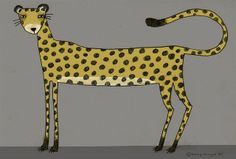 love spots - maybe I could draw a cheetah for pz