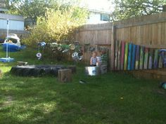 GREAT daycare ideas  http://www.playbasedlearning.com.au/2010/05/make-it-irresistible-with-a-water-wall/