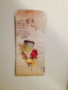 Buste Floreal vintage sacchetti carta fiori shabby chic di FlowersFavours su Etsy