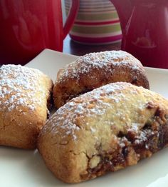 Birdseed's Mustazolli - this has to be Coffee's BFF. Nothing is nicer with a cuppa. You must-have-a mustazolli with your coffee. Bff, Clean Eating, Bread, Coffee, Friends, Food, Kaffee, Amigos, Eat Healthy