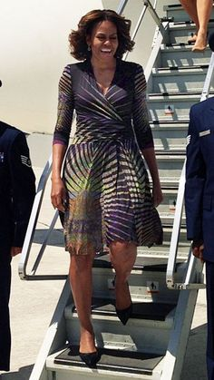 Michelle Obama's Best Looks Ever! - 2014 - Etro from #InStyle