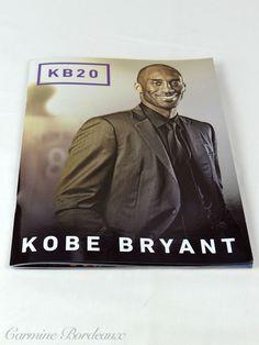 e238b6f5d Kobe Bryant KB20 Commemorative Collector Book