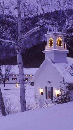 ~~Old church at Christmas