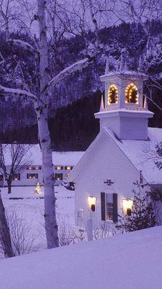 ~~Old church at Christmas