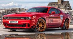 blogmotorzone: Dodge Challenger HellCat by Prior-Desing en http://blogmotorzone.blogspot.com.es/