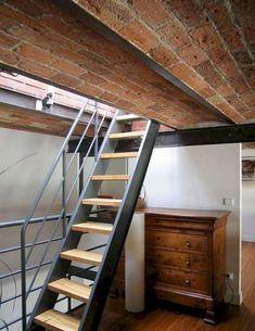 Genius loft stair for tiny house ideas (9)