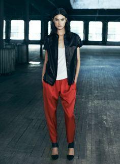 ALLSAINTS Spring 2014. Womenswear. Look 8. #ALLSAINTSNYFW