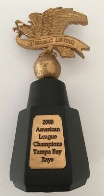 Details About 2008 American League Champions Replica Trophy Tampa Bay Rays Rare World Series With Images Tampa Bay Rays American League Tampa