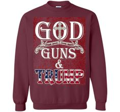 GOD Guns & Trump 2nd Amendment Election Shirt cool shirt