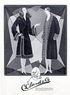 C. Chanel & Cie (Fur Clothing) 1926 Santos, Fur Coat