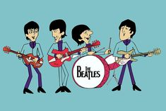The series came about through the efforts of producer Al Brodax at King Features after he was approached by an ABC executive with the idea of producing a Beatles cartoon. The Beatles Episode Guide -King Features Synd- 1965 – Uhd Wallpaper, Music Wallpaper, Cartoon Wallpaper, Wallpapers, Hipster Wallpaper, Ringo Starr, George Harrison, Cartoon Posters, Cartoon Art