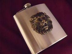 Your place to buy and sell all things handmade Handmade Wedding Favours, Wedding Favors, Marine Life, Groomsmen, Lions, Flask, Gifts For Women, Steampunk