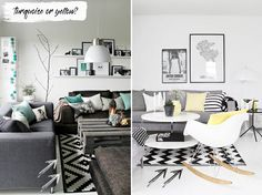 THE (NOT SO) BASIC BLACK & WHITE DÉCOR Different Styles, Color Combinations, Contemporary, Black And White, Blog, Color Combos, Black N White, Black White, Colour Combinations