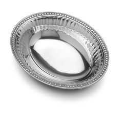 Flutes & Pearls Medium Oval Bowl - Flutes & Pearls - Collections