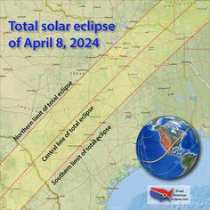 Here Are the Best Cities to See the Next Total Solar Eclipse in 2024 2024 Eclipse, Total Eclipse, Solar Eclipse Photography, Moon Photography, Solar Eclipse Map, Eclipse Images, Solar Cover, It's Going Down, Andromeda Galaxy