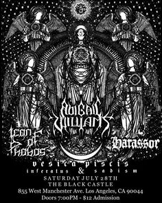 LA gig alert: Abigail Williams w/ Icon of Phobos, Harassor & others @ The Black Castle, Saturday July 28th. $12, Doors @ 7 PM \m/