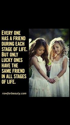 True friends - I could not agree more. I don't agree with off and on again friendships that are the ones you care about and have been the best of friends for years. I don't get it.  I just can't do that.