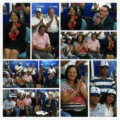 #PhotoGrid En PULSACIONES EN TV,XTRA VISIÓN CANAL10 CON . MARIO DOMINGO GARCIA,en Guananico.
