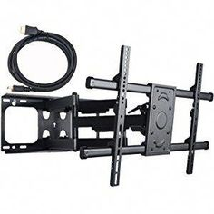 VideoSecu MW380B2 Full Motion Articulating Dual Arms TV Wall Mount Bracket  For 37 70 Inch