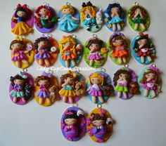 cameos with fimo dolls