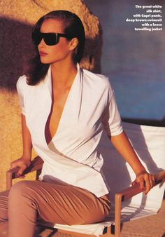 Christy Turlington by Patrick Demarchelier, 1988
