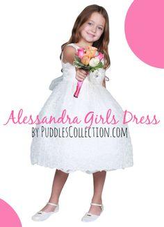 Alessandra Girls Dress