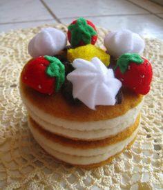 Felt food Pancake set