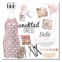 """""""Cocktail Dress"""" by dora04 ❤ liked on Polyvore featuring Bare Escentuals, Bobbi Brown Cosmetics, Deborah Lippmann, Benefit and cocktaildress"""