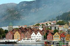 Bergen in Norway - the gateway to explore some of the most amazing nature in the world.