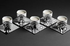 "Collection ""Kartomancie"" Bougies Parfumées By Khol"