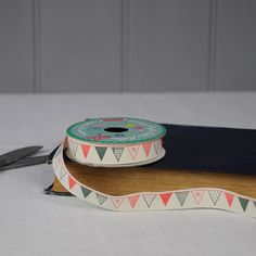 Vintage Crafts Cotton Ribbon Party Bunting   dotcomgiftshop   Winter Sale Now On