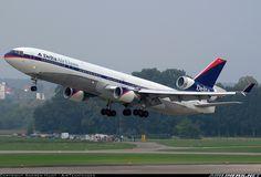 Delta Air Lines N804DE McDonnell Douglas MD-11 aircraft picture
