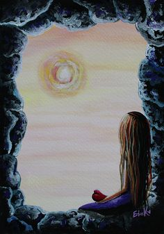 Original Fantasy Artwork Painting by Shawna Erback