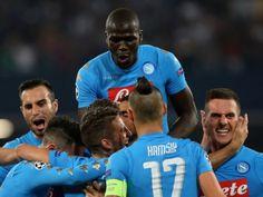 Napoli-Benfica 4-2. Azzurri leader incontrastati nel Girone B