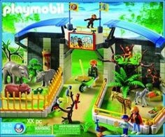 playmobil animals | Playmobil 5921 Small ZOO with animals