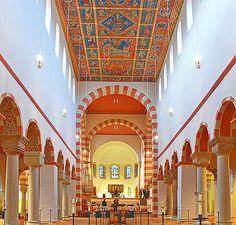 iglesia abadia de san miguel hildesheim - Buscar con Google