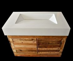 St. Louis, Chicago Concrete Sinks by Formed Stone Design - Designer Concrete - Formed Stone Design