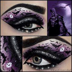 Comics Inspired Eye Make-Up #makeup
