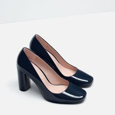 PATENT FINISH HIGH HEEL SHOES-View all-SHOES-WOMAN | ZARA United States