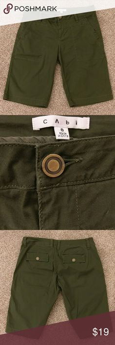 Cabi Ivy League Shorts 8 Very nice Cabi shorts! 98% cotton 2% spandex. 👡 CAbi Shorts