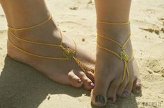 Hey, I found this really awesome Etsy listing at http://www.etsy.com/listing/156738517/barefoot-sandals-footless-sandals-anklet