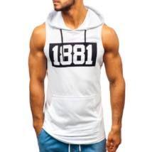 1881 ujjatlan póló - fehér