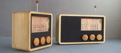 Magno Wooden Radio | Prosperity | National Design Triennial: Why Design Now | Cooper-Hewitt, National Design Museum