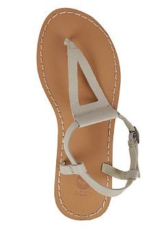 ROXY Womens Nymph Sandals Stone #planetsports