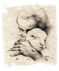 Jesus & The Lamb Photo:  This Photo was uploaded by dhaliamia. Find other Jesus & The Lamb pictures and photos or upload your own with Photobucke...