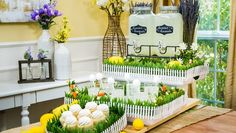 """Make a festive Spring Serving Display for your Hallmark Watch Party with DIY Trays, and you'll be ready to invite friends over to watch """"Easter Under Wraps"""" on April Home & Family airs weekdays with fresh ideas and DIY, only on Hallmark Channel! Home And Family Tv, Home And Family Hallmark, Hallmark Homes, July Holidays, Drink Stirrers, Easter Table, Easter Dinner, Spring Home Decor, Hallmark Channel"""