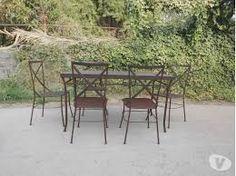 Resultado de imagen para muebles fierro forjado Andres Gasman  chile