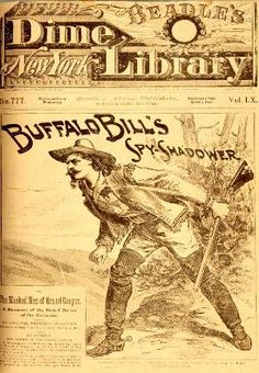 Image result for dime novels of the old west