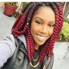 peinados con trenzas afro cortas nuevos - Buscar con Google
